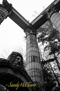 """Ruins"" in Guildwood Park in Scarborough, Ontario."