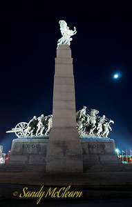 The National War Memorial in downtown Ottawa.