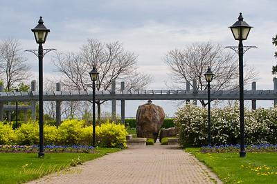 Spring in Rosetta McClain Gardens in Scarborough, Ontario.