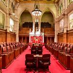 The Senate of Parliament Building - Ottawa, Canada