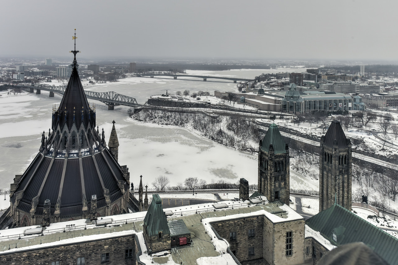 Library of Parliament - Ottawa, Canada