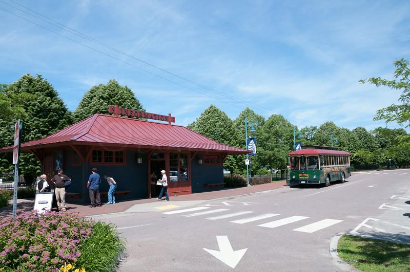 Rail Depot by the Echo, Burlington, Vt