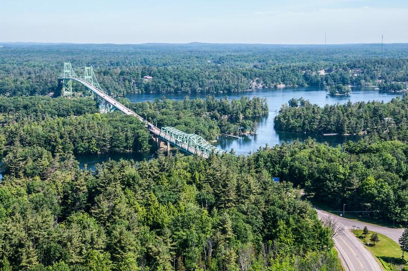 Bridges across the Saint Lawrence from New York