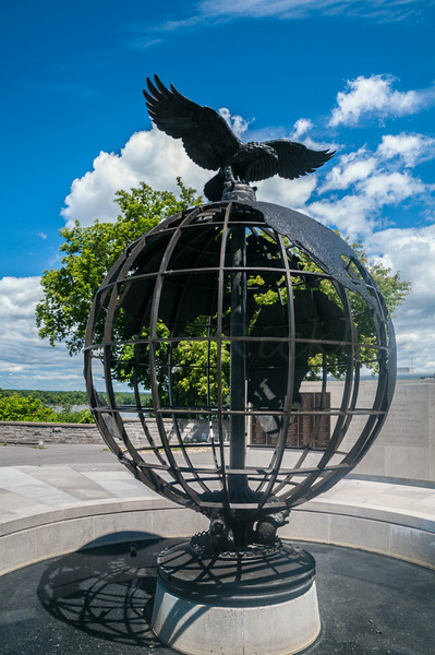War Memorial at RIdeau Falls