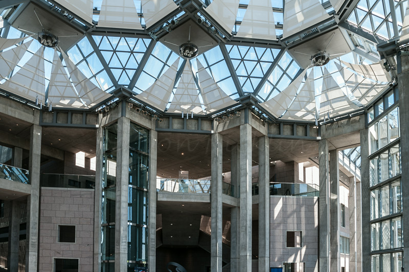 Entry Atrium at the National Gallery