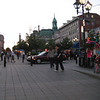 The main square in Old Montreal