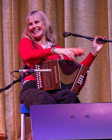 Sharon Shannon, master accordionist.