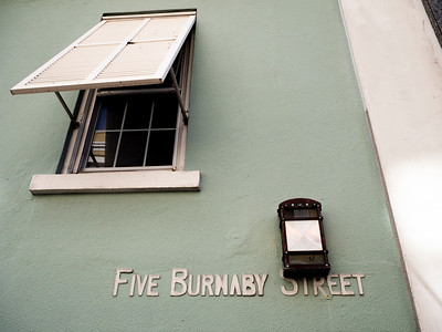 Five Burnaby Street.
