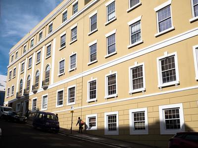 Office building on Burnaby Street.