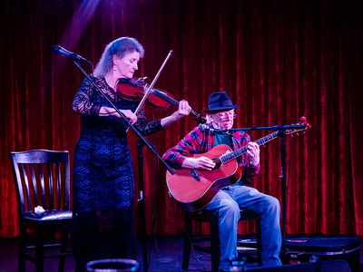 Back on the ship after touring St. George, we headed to a performance by fabulous fiddler Nollaig Casey and guitarist Arty McGlynn.