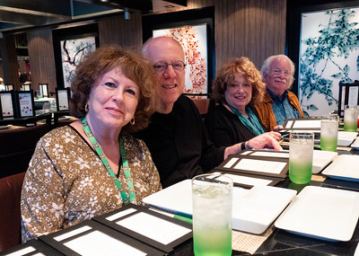Our Thursday dinner was at Tepanyaki, a Japanese hibachi restaurant, part of our special dining package.
