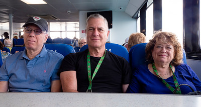 Three mighty ferriers. On the way to St. George.
