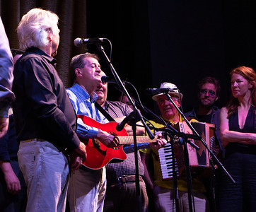 He has become a favorite of many on board. Dermot Henry sings his very funny song about the Folk'n Irish Music Cruise.