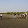 The group at Kartong beach