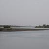 Looking coastwards down the Allahein river