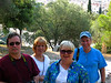 Alan, Sherry, Mary and Jerry at the Acropolis