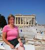 Molly at the Acropolis