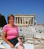 Molly at the Acropolis