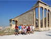 Our gang at the Acropolis
