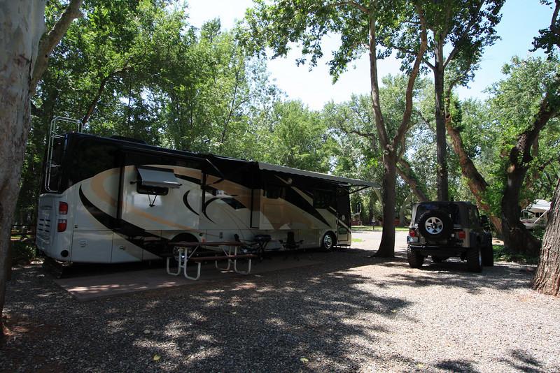 Campsite at Sedona, Arizona