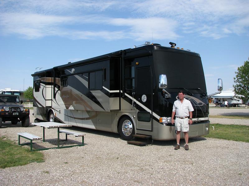 Campsite at Carlsbad, NM.
