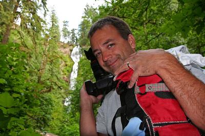 Becky ~ Shaun at Munson Creek Falls