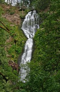 Becky @ Munson Creek Falls