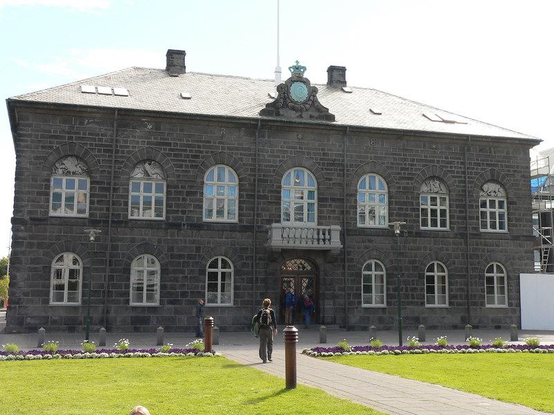 Iceland's parliament building
