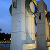 The Iowa pillar at the World War II Memorial