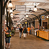 The French Market at early morning.