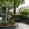 The courtyard by the French Market in New Orleans