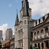 Enjoy a stroll along the plaza in front of the Louisiana Museum and St Louis Cathedral.