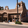 Upon our return we stopped in Taos, NM. The structures in this town were old world and beautiful. Taos is famous for it number of working artists.
