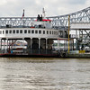 The car ferry to Algiers, an area on the westbank of New Orleans