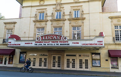 The Lucas. A beautiful old movie palace, now an arts and performance venue.