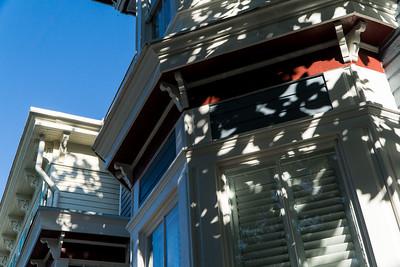 Savannah roof lines and shadows.