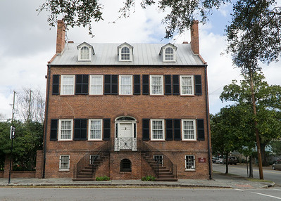 The Davenport House, at the corner of State and Habersham on Columbia Square, is  named for Isaiah Davenport, its buildier and resident and one of the city's foremost architechts. It's considered one of the finest examples of Georgian architecture in the entire south.