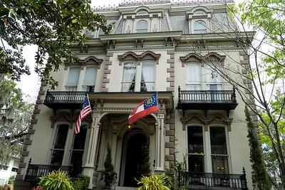 A beautiful Savannah mansion, the Hamilton-Twiner Inn. From 1873.