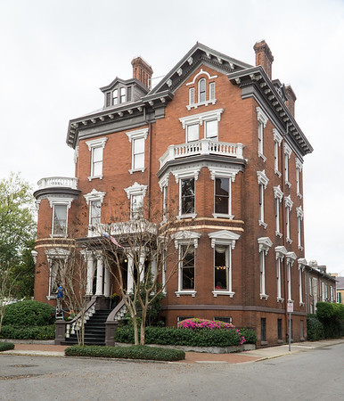 This is the Kehoe House. Located on Columbia Square.