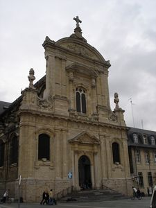 Cambrai  Cathedral April 2005