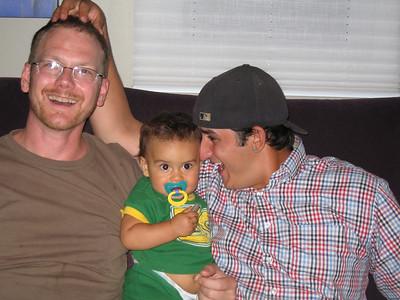 Three generations of Moxam boys
