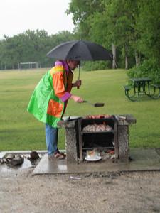 The magic barbeque coat