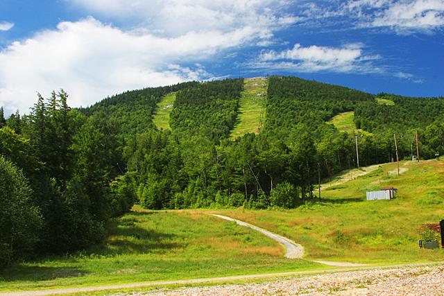 Ski runs at Sunday River Resort