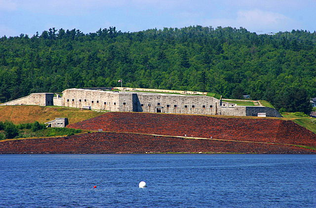 Fort Knox, Prospect, Maine on the Penobscot River