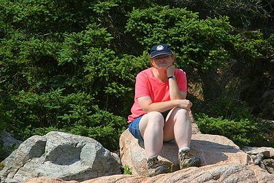 Heather at Bass Harbor