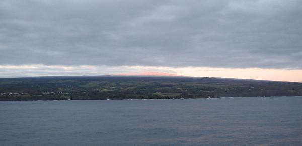 Good morning to the Big Island (Hawaii)