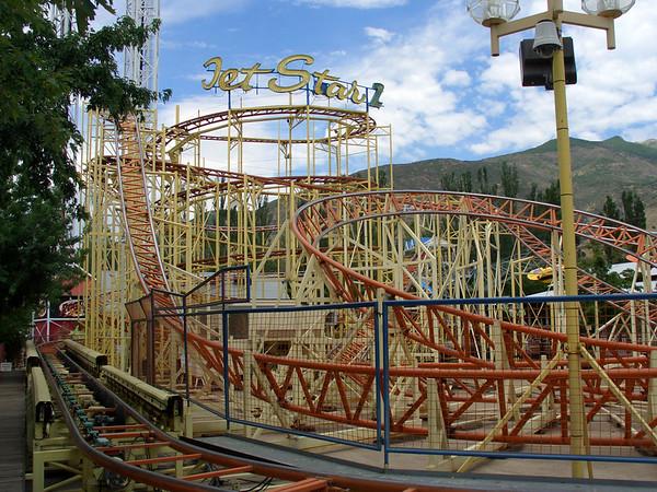 Lagoon Amusement Park, Utah, July 2004