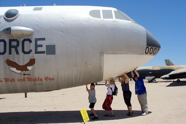 Pima Air Museum and Boneyard, Tucson, AZ, 5/27/04