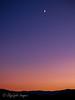 Moon above the Tetons