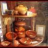 Cazuelas and handmade clay pots.